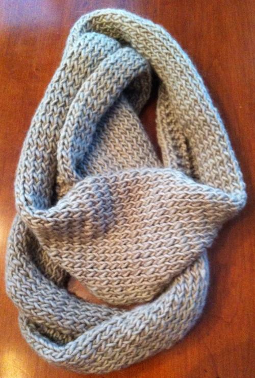 Infinity Scarf Knitting Pattern Size 13 Circular Needles : Betty s Infinity Scarf iKnit2Purl2