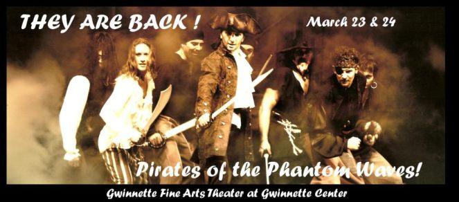 pirates of the phantom waves