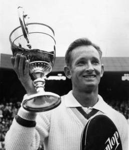 Rod Laver 1962 Grand Slam Champion via The Indendent