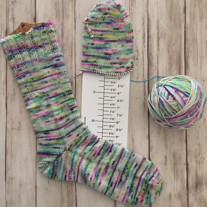 Late Night Socks Update Toe Up Sock Instructions